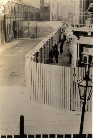 Warsaw, Poland, 1943, A ghetto street. When you look at the specs from this angle, you see that they were really treated like little caged rats ready for experimentation. The Nazis will be held accountable...it will never be forgotten in god's heart.