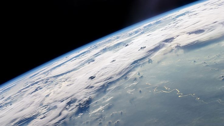 cloudy earth view from space wallpaper 1920x1080 1