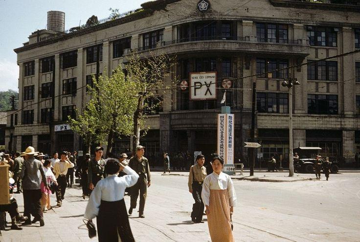 서울 1953년 여름 풍경 -