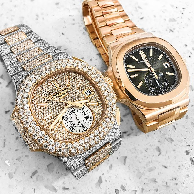 Rose Gold Patek Plain Jane Or Two Tone Bust Down Take Your Pick Contact For Individual Pricing Fashionformen Fashion Watches Wrist Watch Gold Watch