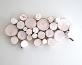White Birch Forest Topography. Organic wall art from Etsy seller urbanplusforest.: Wall Art, Birches Forests, Forests Topographi, Diy Artworks, Art Ideas, White Birches, Organizations Wood, Wall Sculpture, Wood Walls