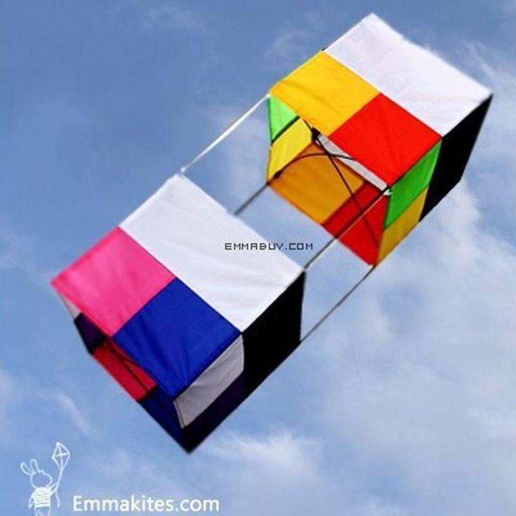 kaufe weihnachten jetzt 3d box kite 85cm single line kite