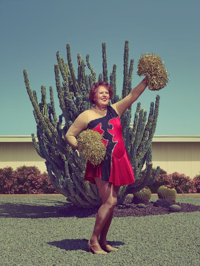 Sun City Poms Portraits Reveal The Energetic Faces Of Retired Cheerleaders