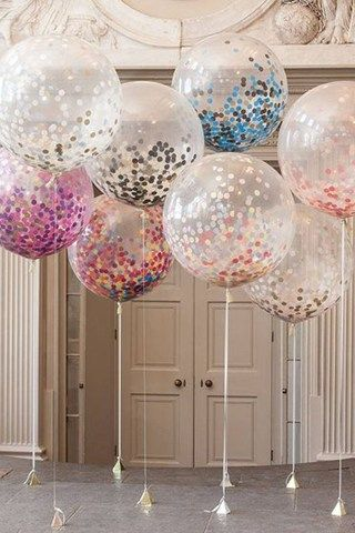 The 25 best balloon centerpieces ideas on pinterest balloon 23 chic and subtle glitter wedding ideas junglespirit