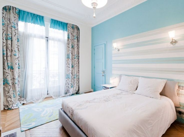 Stunning Chambre Turquoise Et Blanc Gallery - Design Trends 2017