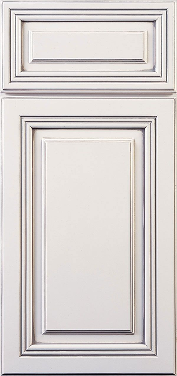 Destin raised panel cabinet doors feature detailed moulding and intriguing depth that work perfectly together.