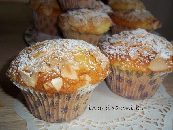 Muffins ricetta francese con vaniglia e mandorle