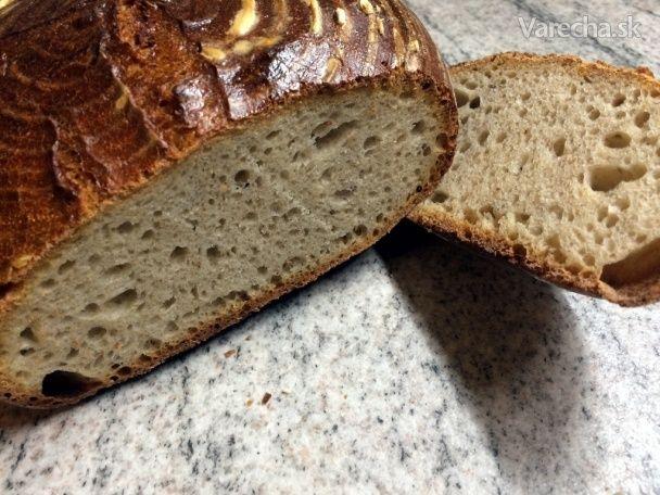 Kváskový chlieb, ktorý zvládne každý (fotorecept) - Recept
