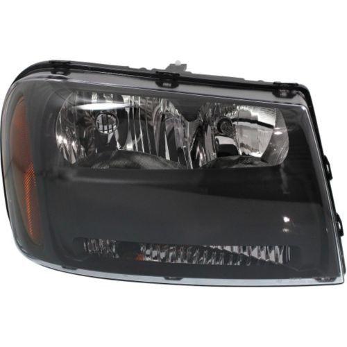 2006-2009 Chevy Trailblazer Head Light RH, Composite, Assembly, Halogen