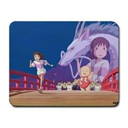 ar09-22 Spirit Away PC Cloth Cover Square Mouse Pad