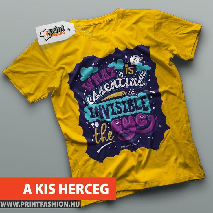 KIS HERCEG - Egyedi mintás póló! WEBSHOP: http://printfashion.hu/mintak/reszletek/kis-herceg/noi-polo/
