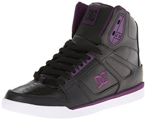DC Women's Rebound Slim High Skate Shoe,Black,6 M US DC http://www.amazon.com/dp/B00HQ7LT0U/ref=cm_sw_r_pi_dp_7KyVvb0KBQCM3