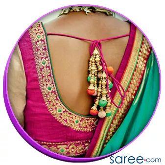 Image 5 - Trendy Saree Blouse Back Designs - saree.com