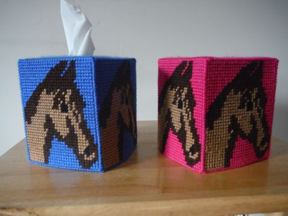 Horse Tissue Box Cover Kids Room Decor By Shanayscreation