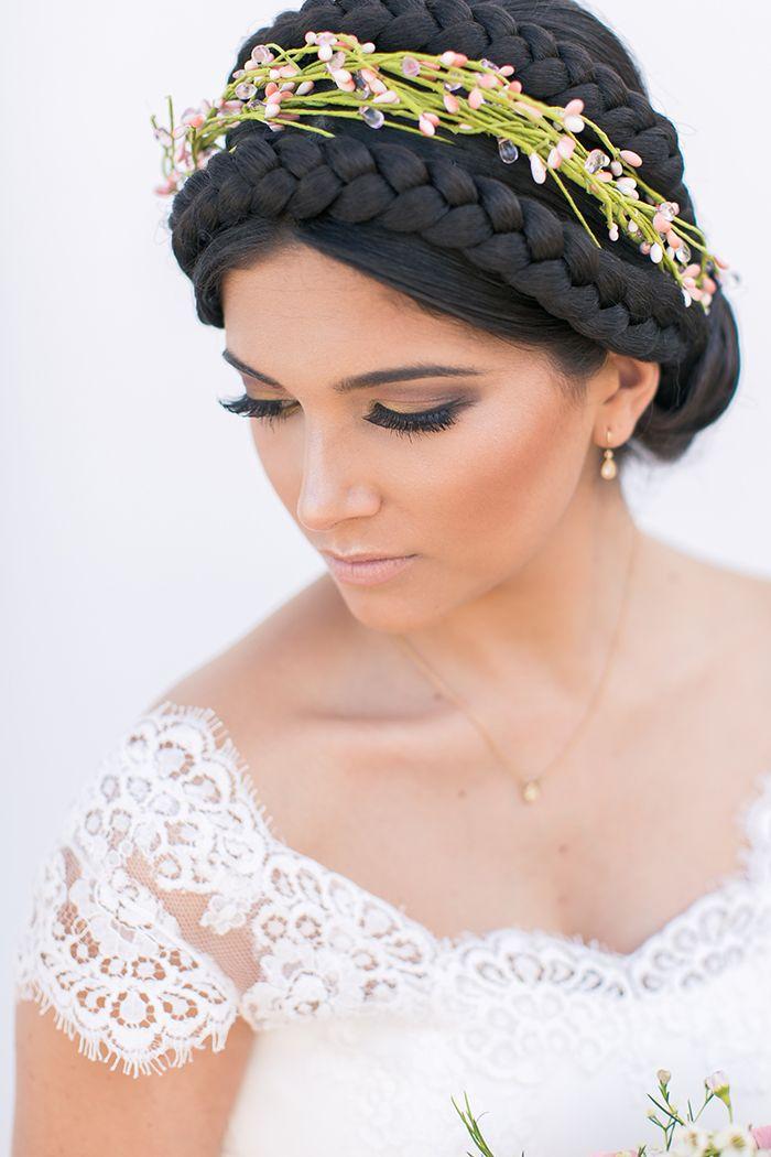 Hochzeitsfrisur und make up stuttgart