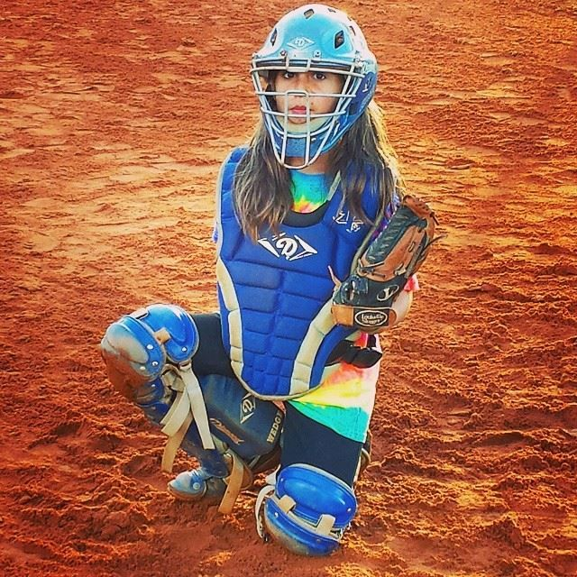 #beaubellinger #thedoubledeuce #softball #mygirl #catcher