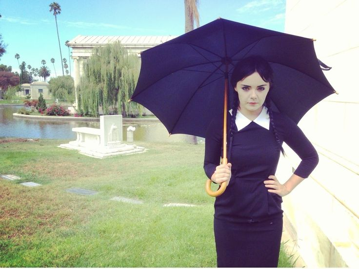 Melissa Hunter as the Adult Wednesday Addams