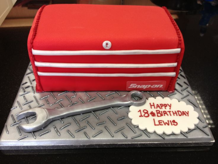 snap on tool box cakes   Snap On Tool Box