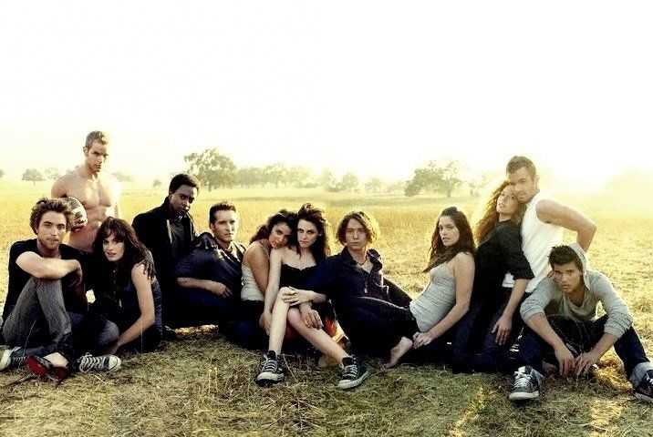 Twilight Cast| I would love to have this as a poster