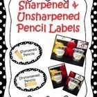 This product contains labels for your classroom.  Your children will know where to go to get the sharpened pencils and where to place broken pencil...