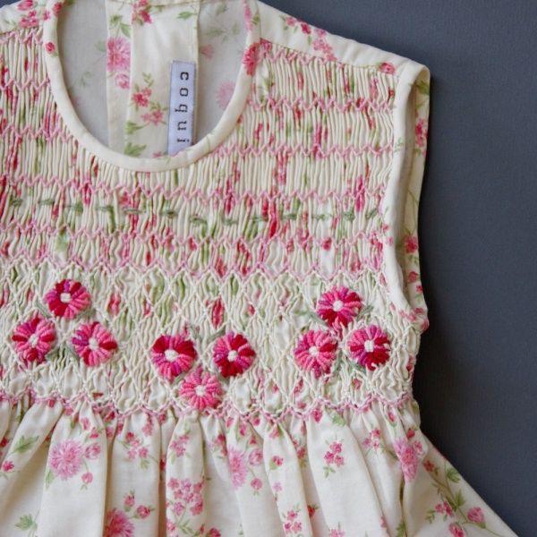smock dress spanish