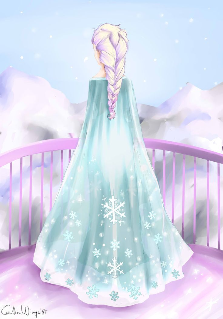 Who else got a lady boner when she transformed into an awesome ice queen?
