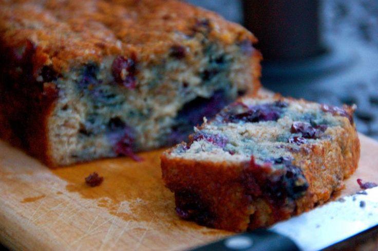 Banana Blueberry Bread (GAPS, grain free, gluten free, dairy free) #justeatrealfood #mygutsy