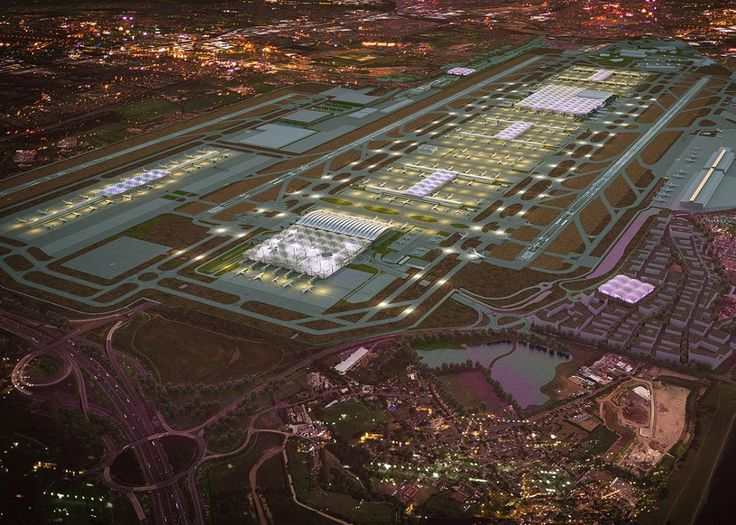Grimshaw Architects appointed to design London's Heathrow Airport