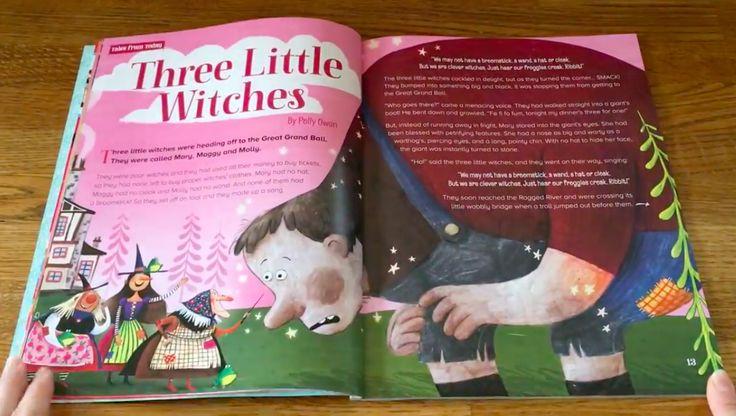 Witches! Trolls! Firebirds! Giants! Flick through Storytime Issue 38 here: https://www.youtube.com/watch?v=IBQxinpjnKA