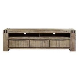 #prontowonen #droomwoonkamer  TV-Dressoir Bassano rough warm grey