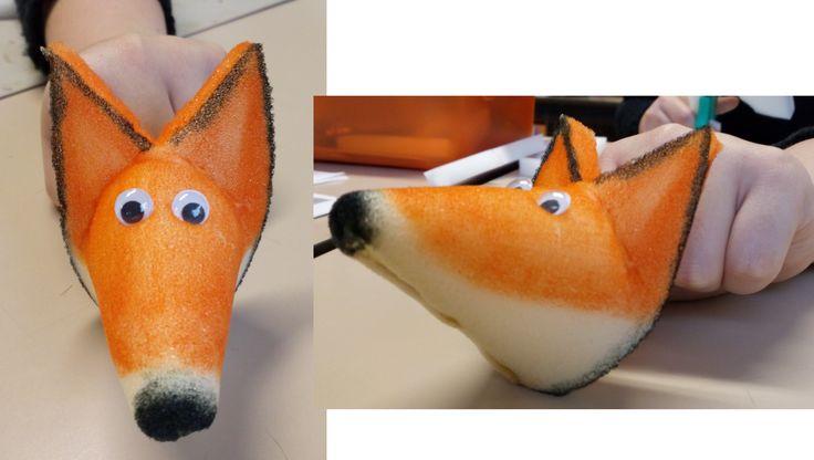 Vingerpop vos (bladmousse)