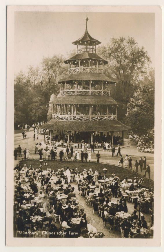 München Chinesischer Turm 1939