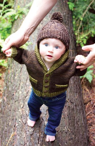 Gramps cardigan - for your little old man!