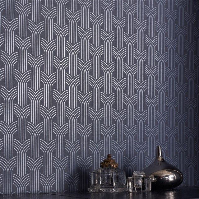 Graham & Brown Superfresco Easy Cinema Midnight Wallpaper