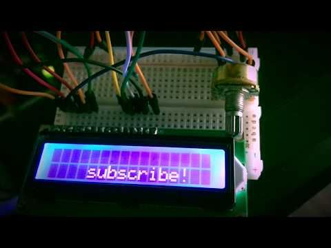 Games and Tech: Arduino lcd display test and modified coding text ...