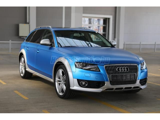 Eladó Használt Audi A4 Allroad 3 0 V6 Tdi Dpf Quattro S Tronic 2011 3 Használtautó Hu Audi A4 Audi Bmw