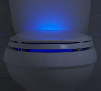 Kohler Nightlight Toilet Seat Improves Late Night Aim -by Fox Van Allen on February 07, 2014