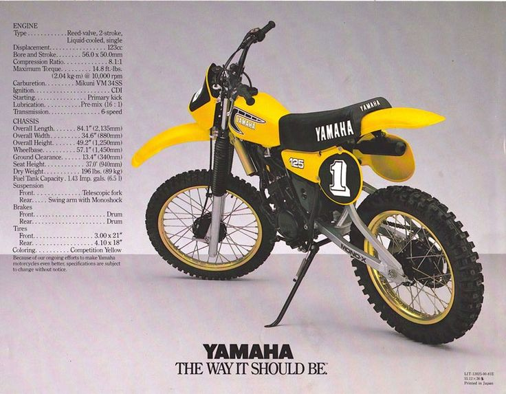 Did Kawasaki A  Stroke Cc Motocross Bike