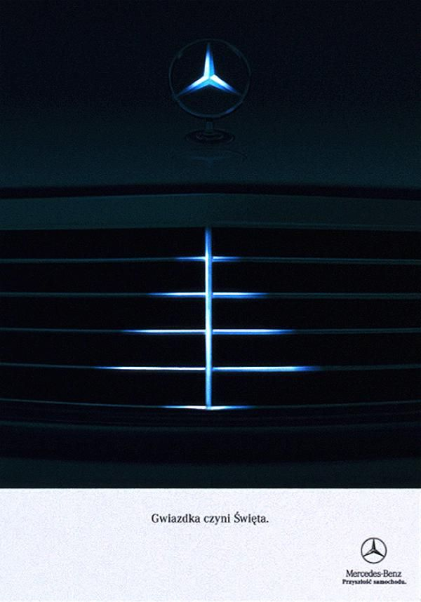 Mercedes Benz Christmas Message Christmas Ad Print Ad By Ad
