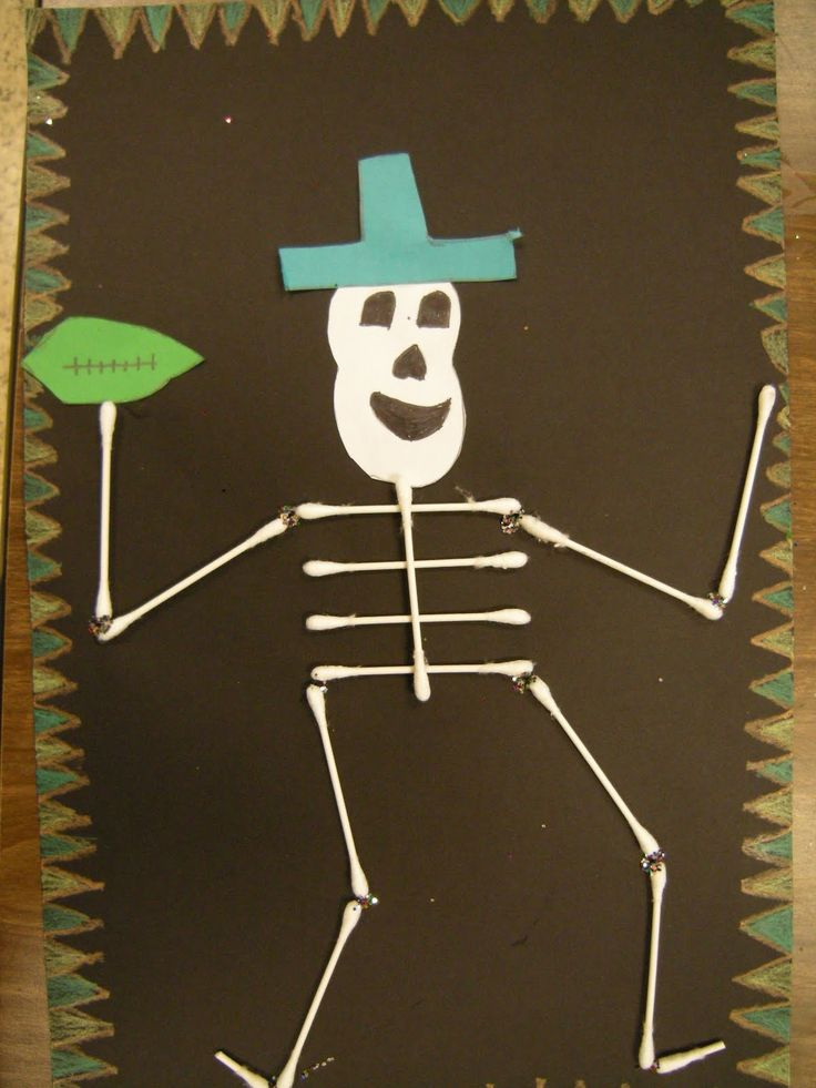 1000 ideas about skeleton craft on pinterest cc cycle 3 for Day of the dead crafts for preschoolers