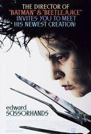 Edward aux mains d'argent Poster