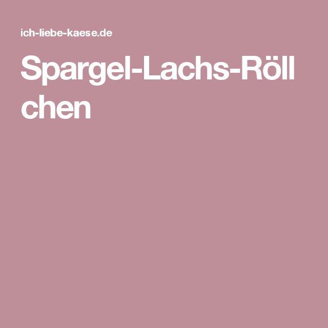 Spargel-Lachs-Röllchen