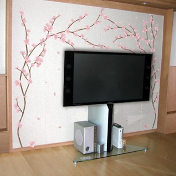 Pink Blossom Tree - Wall Sticker