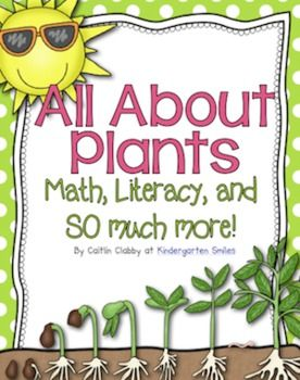 All About Plants! Perfect for after Spring Break :)