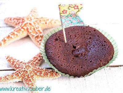 Schokomuffins mit flüssigem Kern - super lecker - www.kreativ-zauber.de