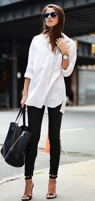 Top 25  best Black and white tees ideas on Pinterest | White homes ...