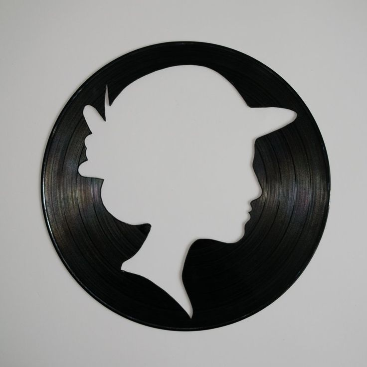 Ladie Vinyl Wall Decoration