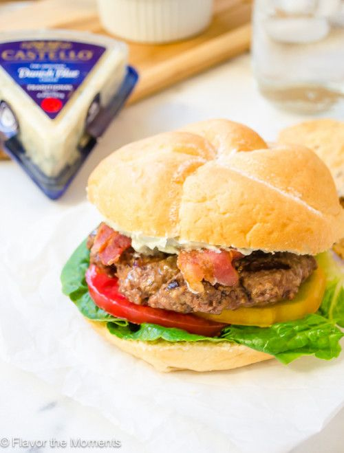 Blt Burgers With Whipped Blue Cheese Castello Usa