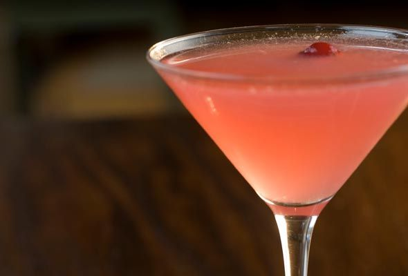 Cranberry Cosmopolitan, and the beach to drink it on.: App