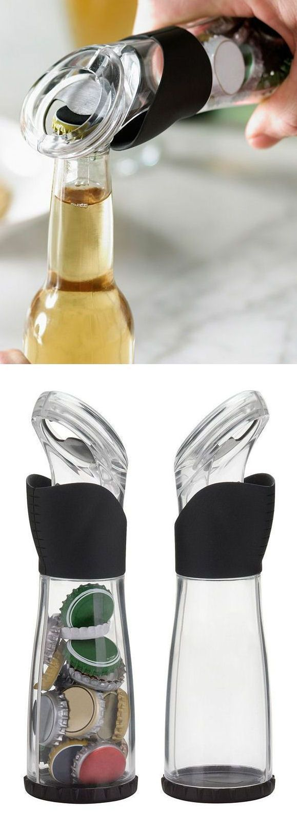 Funny grab shaped multi purpose fruits vegetable peeler bottle opener - Fashionable Cap Storing Bottle Opener With Creative Design